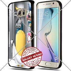 Samsung Galaxy S6 Edge Plus Minions Locker Room Cool Cell Phone Case Shock-Absorbing TPU Cases Durable Bumper Cover Frame Black Lucky_case26 http://www.amazon.com/dp/B018KOQB82/ref=cm_sw_r_pi_dp_hRbwwb0CJDZ08
