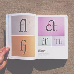DIY Ligatures (by David Schwen)    Featured in the typography book 'Typoholic.'