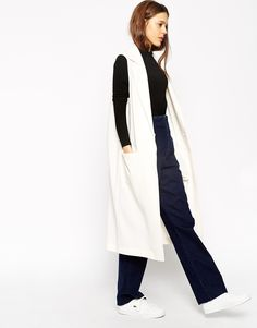 Image 1 of ASOS Sleeveless Duster