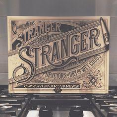 Beautiful work from Stranger and Stranger.