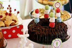 Buddy the elf christmas party via Kara's Party Ideas KarasPartyIdeas.com