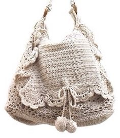 Boho natural color crochet bag. For more follow www.pinterest.com/ninayay and stay positively #inspired