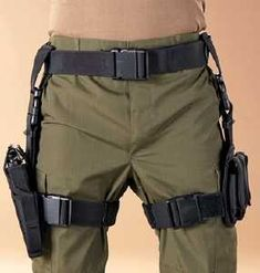 TACTICAL HOLSTER W/MAG POUCHES