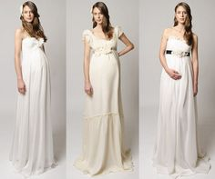 These are wedding dresses but would be beautiful to photograph a glowing mom-to-be in!