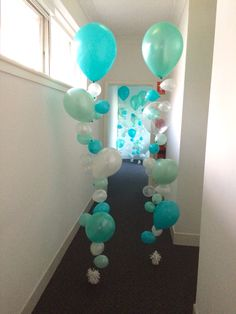 Sea themed bubble strands for a kids festival
