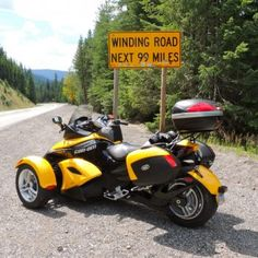 Spyder Photo Contest - www.automobilista.eu FanPhoto of his Can Am Spyder RS Can Am Spyder, Winding Road, Photo Contest, The Incredibles, Self, Pageant Photography, Photography Challenge