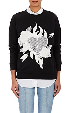 We Adore: The Embroidered Cotton Sweatshirt from EACH X OTHER at Barneys New York