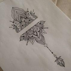 Pattern Tattoo by Medusa Lou Tattoo - medusaloux@outlook.com