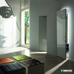 Italian interior doors by Barausse. Sigpouf by Sitia