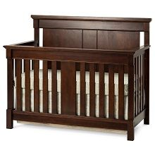 convertible crib grows with your child by converting into a crib, toddler bed, day bed, and a full bed Cribs are made of wood and wood veneers Non-toxic finish Mattress support adjusts to two heights Toddler Furniture, Nursery Furniture, Delta Children, Bed Rails, Convertible Crib, Crib Mattress, Baby Safe, Nursery Themes, Nursery Ideas