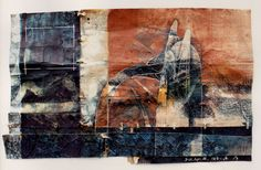 D-23.Apr.1988 painting, collage on paper 林孝彦 HAYASHI Takahiko