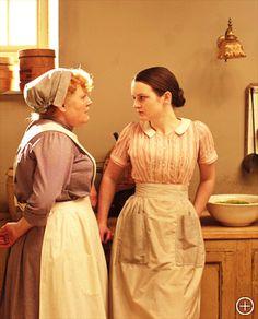 kitchen, Downton Abbey