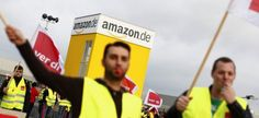 Amazon German Italian workers protest on Black Friday dubbed Strike Friday