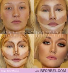 Contouring Is The New Photoshop… it seems so sad to me that people need to change their entire face to be seen as beautiful..