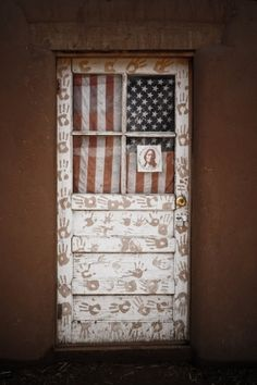 patriotic american door by sweetly_surreal