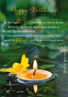 Happy Birthday – Postkarten – Grafik Werkstatt Bielefeld – Brenda O. Happy Birthday Pictures, Happy Birthday Messages, Very Happy Birthday, Birthday Quotes, Birthday Greetings, Birthday Wishes, Birthday Cards, Birthday Gifts, Birthday Postcards