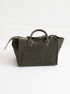 6d0d76cb3b Clare V Sandrine Bag- Army Suede Fashion Outfits