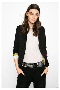 Blazer noir classique pour femme   OK | Desigual.com B