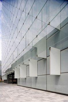 Telefonica's District C in Las Tablas / Madrid / Spain  Architect: Rafael de La-Hoz Castanys  From ArchiTeam  http://www.architravel.com/
