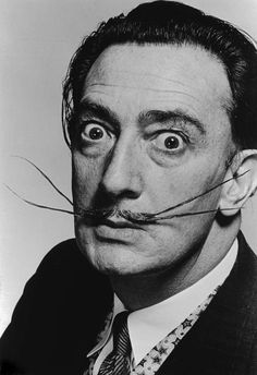 Salvador Dali, 1953 // Philippe Halsman | Artists' portraits P&S ...