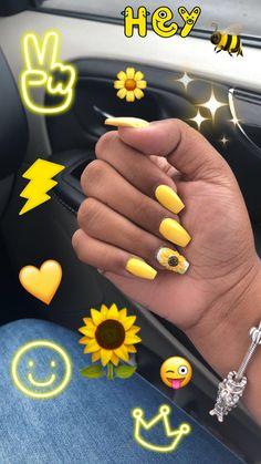 Short Nail Designs: Nail Art Designs for Short Nails to Try Mauve Nails, Aycrlic Nails, Prom Nails, Acrylic Nails Yellow, Pink Nail, Pretty Nail Designs, Short Nail Designs, Simple Nail Designs, Sunflower Nails