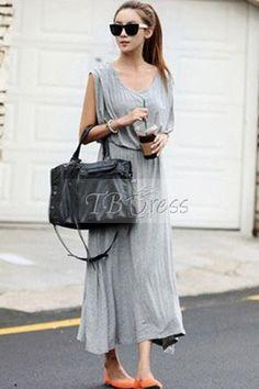 Sexy Summer Backless Sleeveless Long Dress