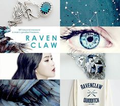 Love this Ravenclaw aesthetic