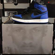 Air Jordan Retro 1 Black/Royal My Royalty #jordan #sneakers #nike