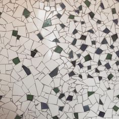 Beautiful chipped tile mosaic in the bathroom of luxury concept store @maisonmaracapetown - I want #capetown #design #mosaic #tile #bathroom (at Maison Mara)