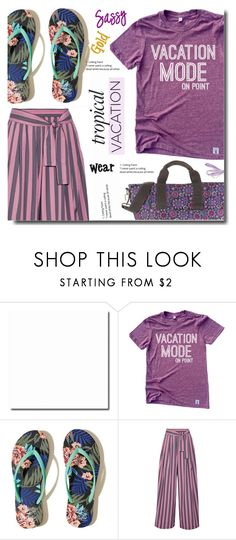 """""""Vacation"""" by soks ❤ liked on Polyvore featuring Hollister Co., Tome, Hadaki and polyvoreeditorial"""
