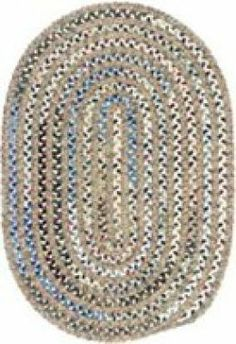 How-to Basics Rag Rug *w links to several helpful videos of crochet rug basics | rug shown is braided*