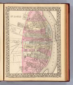 St. Louis. / Mitchell, Samuel Augustus / 1880