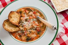 Hearty Tuscan Bean and Vegetable Soup. A hearty classic recipe we first enjoyed it in Tuscany. Came home and did my version!