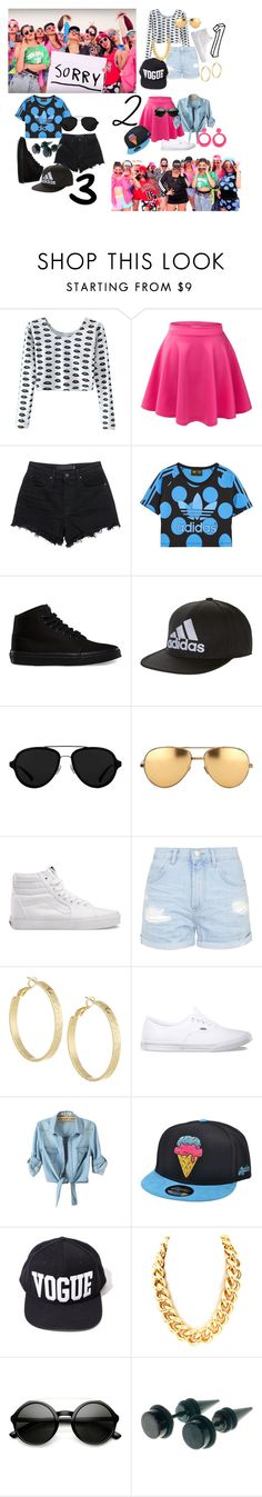 """Justin Bieber Sorry outfits"" by lovaro ❤ liked on Polyvore featuring Justin Bieber, T By Alexander Wang, adidas Originals, Vans, adidas, 3.1 Phillip Lim, Linda Farrow, Topshop and Panacea"