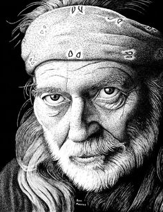 Willie Nelson Revisited by ronmonroe.deviantart.com on @deviantART