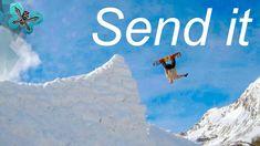 Awesome Snowboarding And Skiing tricks - send it into the Season end - 4... Snowboarding, Skiing, Flying Together, Fpv Drone, Gopro Hero, Bad Timing, Winter Season, Have Fun, Seasons
