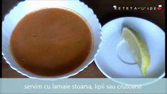 Supa crema de linte rosie (reteta video), Rețetă Petitchef Pudding, Desserts, Food, Tailgate Desserts, Deserts, Custard Pudding, Essen, Puddings, Postres