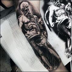 50 Rad Tattoos für Männer - Radical Body Art Design-Ideen  #design #ideen #manner #radical #tattoos