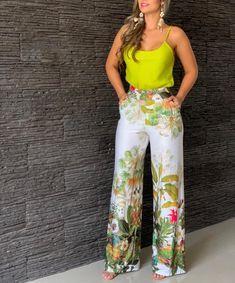 I like this outfit, leo and orange Fashion Mode, Fashion Pants, Look Fashion, Fashion Dresses, Womens Fashion, Classy Outfits, Stylish Outfits, Beautiful Outfits, Leder Outfits
