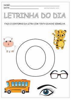 4 - Atividades para Educação Infantil 4 anos Preschool Learning Activities, Toddler Activities, Abc Phonics, Home Schooling, Kids Education, Projects For Kids, Kids And Parenting, Literacy, Homeschool