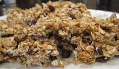Chewy homemade no bake chocolate chip granola bars