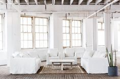 Of The Most Disregarded Answers For Sandstone Living Room Set 3 Deep Sofa, Mcm House, White Sofas, Living Room Sets, White Walls, Family Room, Interior Design, Furniture, Home Decor