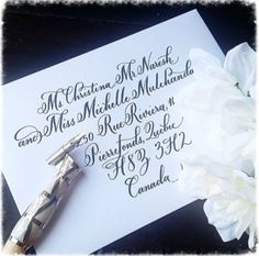 Addressing wedding invitations to canada