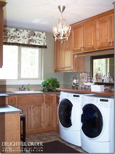 This is one of the nicest Laundry Rooms I've ever seen...