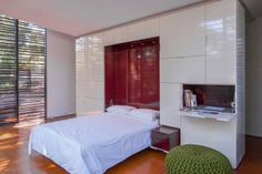 A yoga studio above the garage hides a guest bed and storage space... Photo-5978361.75871 - Houston Chronicle