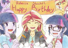 Happy Birthday, Rebecca Shoichet by Aka-Ryuga