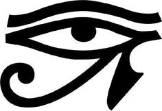 If I ever got a tattoo, this would be it! Eye of Horus is a symbol of health/well being and protection.