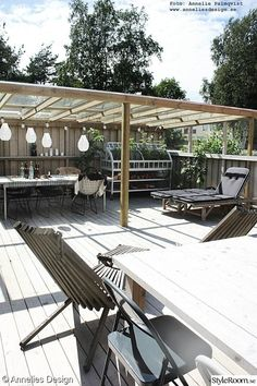 Pergola For Small Patio Patio Roof, Pergola Patio, Backyard Landscaping, Gazebo, Outdoor Dining, Outdoor Spaces, Outdoor Decor, Shade Structure, Pergola Shade