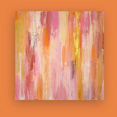 Original Acrylic Abstract Painting on Canvas by OraBirenbaumArt, $295.00
