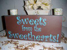 Wedding Candy Bar Sign, Candy Buffet Sign